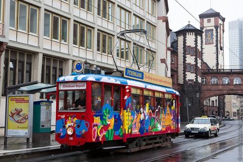 Трамвайчик во Франкфурте