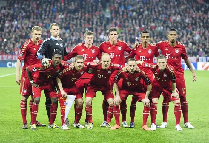 Бавария Мюнхен футбольный клуб