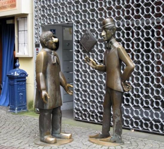 Памятник Тюннесу и Скалу в Кёльне
