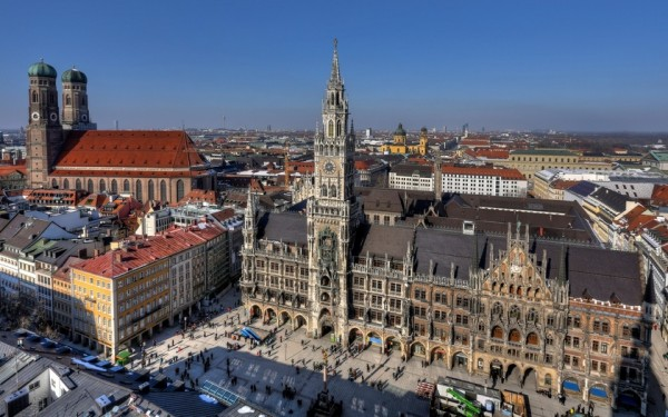 Мариенплац площадь Мюнхена