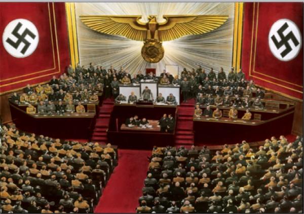 Выступление Гитлера в Рейхстаге