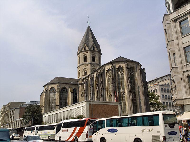 Церковь Святого Апостола Андрея в Кёльне