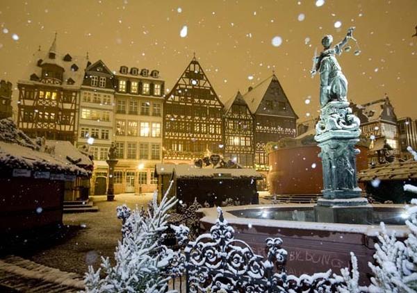 Зимний Франкфурт на Майне