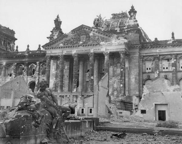 Рейхстаг в конец войны