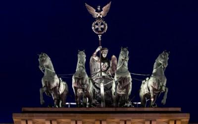 Бранденбургские ворота колесница
