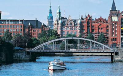 Современный Гамбург