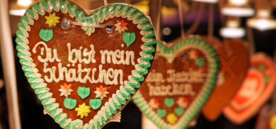 Как немцы отмечают День всех влюбленных