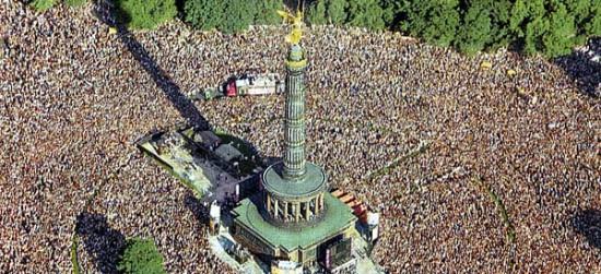 Love Parade в Германии