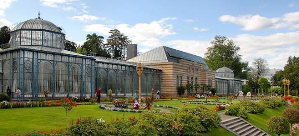 Ботанический парк Вильгельма в Германии