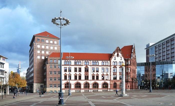 центральная площадь Дортмунда