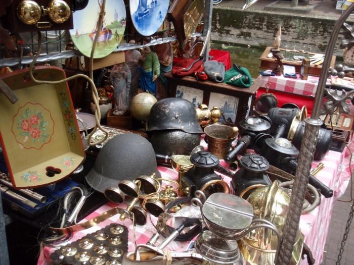 Блошиный рынок во Франкфурте