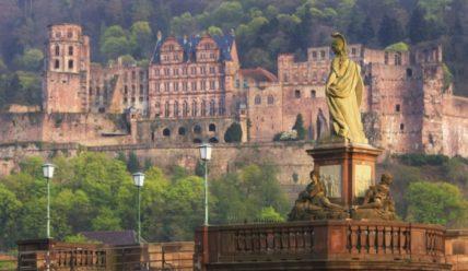 Гейдельбергский полуразрушенный замок