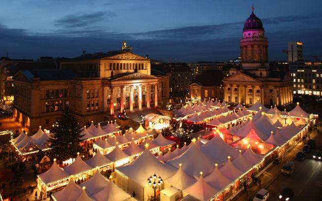 рождественнские рынки «Weihnachtsmarkt»