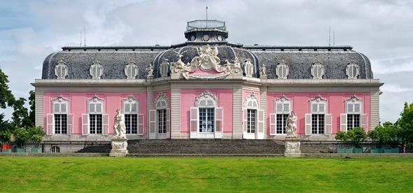 Замок Бенрат Дюссельдорф
