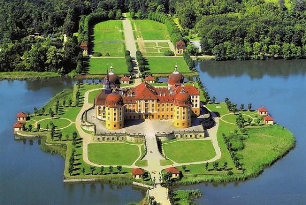 Морицбург замок в Дрездене