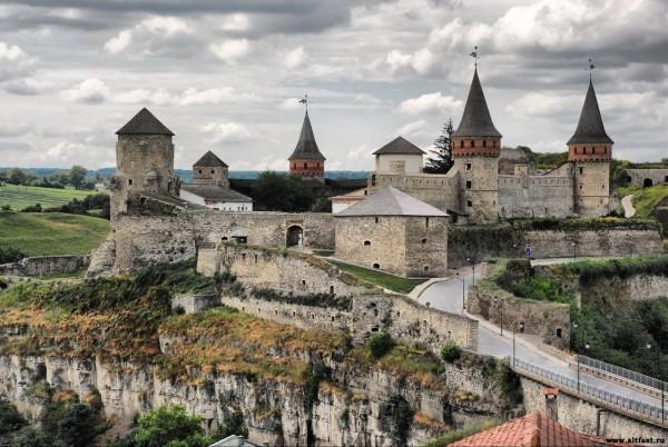 Знаменитая крепость Левенбург