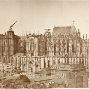 кельнский собор строительство