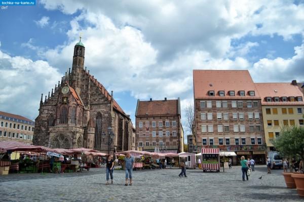 Нюрнберг город в Баварии
