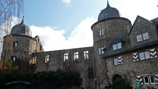 Забабург замок в Германии