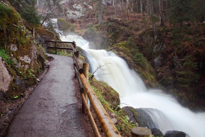 Триберг водопады