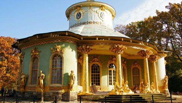 Китайский чайный домик в Потсдаме