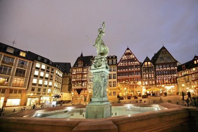 Франкфурт-на-Майне город Германии