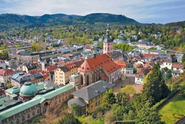 Баден-Вюртемберг город Баден Баден
