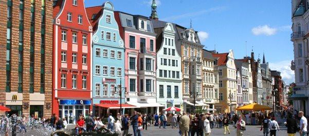 Росток город Германии
