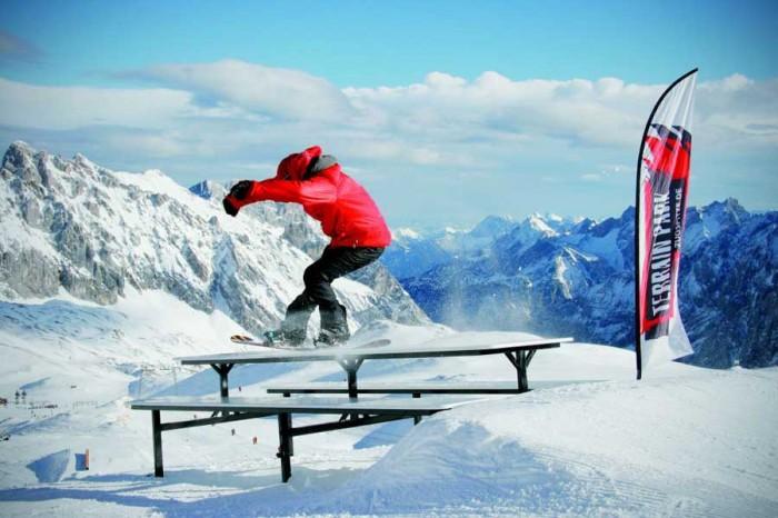 Terrain Park Zugspitze