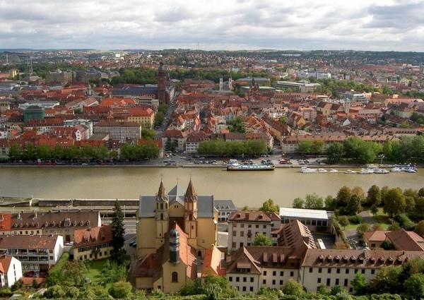 Вюрцбург город в Баварии