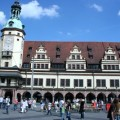 Рыночная площадь Лейпцига