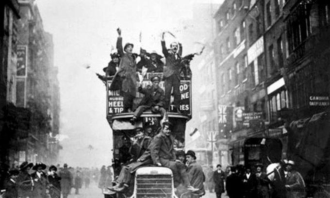 конец первой мировой войны