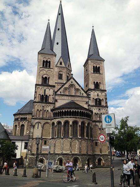 .церковь Святого Мартина в Бонне