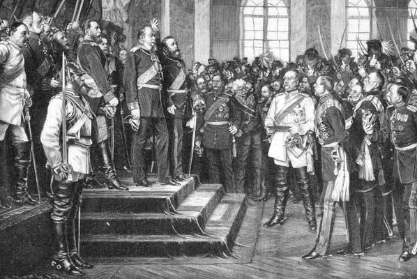Провозглашение Германской Империи в 1871 г