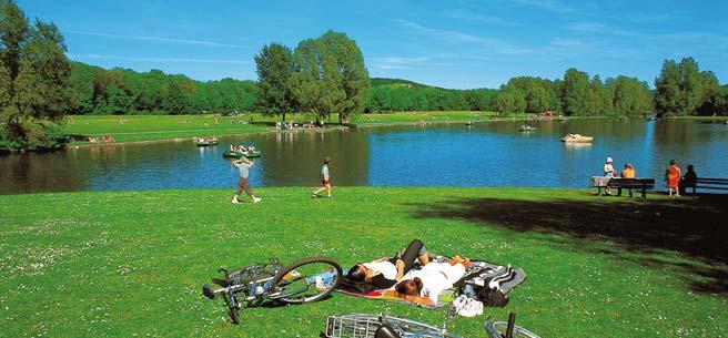парк Райнау в Бонне
