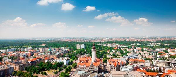 Лейпциг город Германии