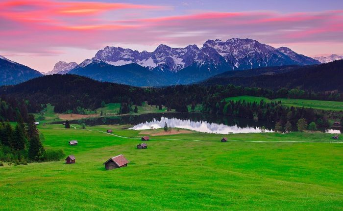 Альпийские луга в Германии