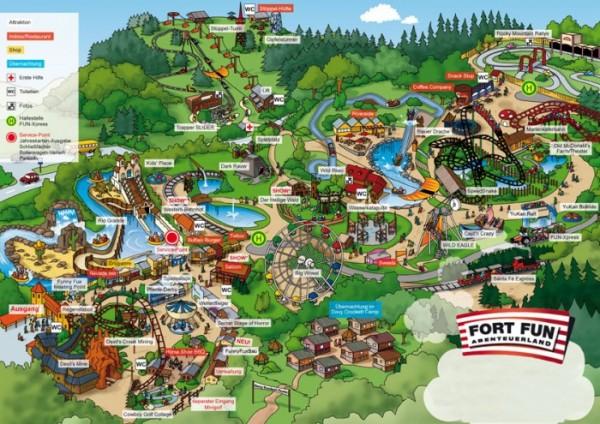 Страна приключений Fort Fun в Германии