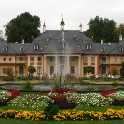 Замок Пильниц в Германии