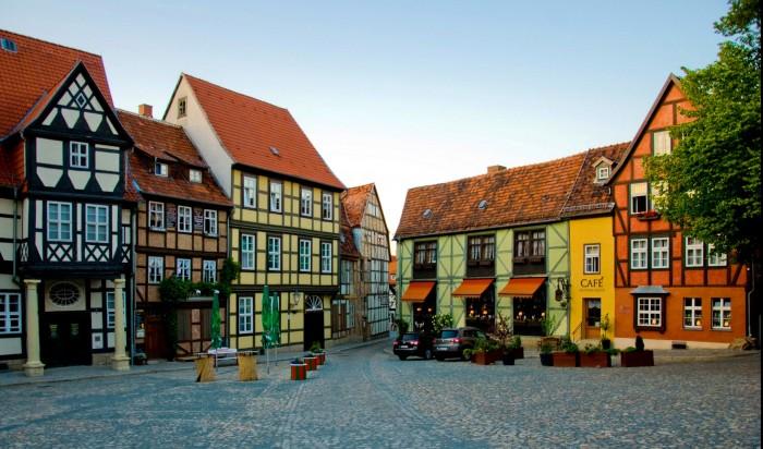 Кведлинбург в Германии