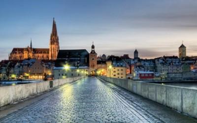Регенсбург город Германии