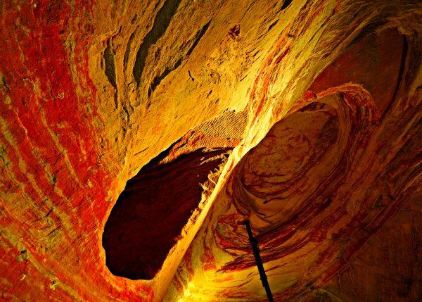 пещеры Шлоссберг в Германии