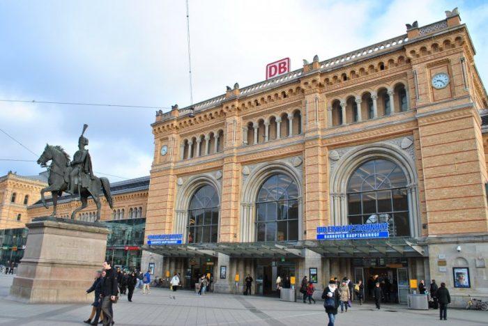 центральный вокзал Хауптбаннхоф