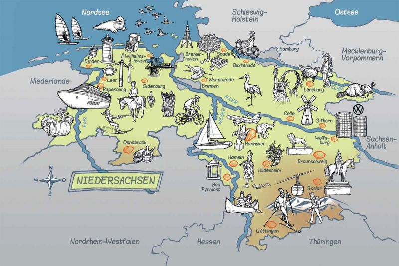туризм в Нижней Саксонии