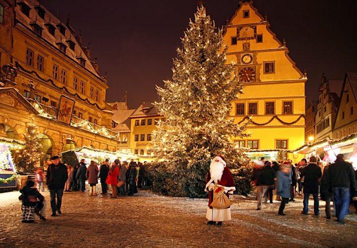 Рождественская деревня в Германии