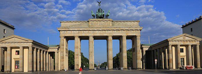 Brandenburg Gate в Берлине