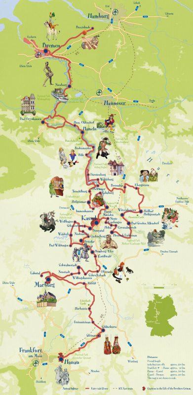 Немецкая дорога сказок