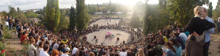 Mauerpark в Берлине