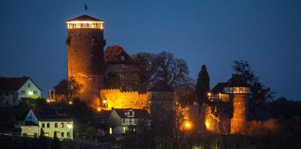 Трендельбург – замок с башней