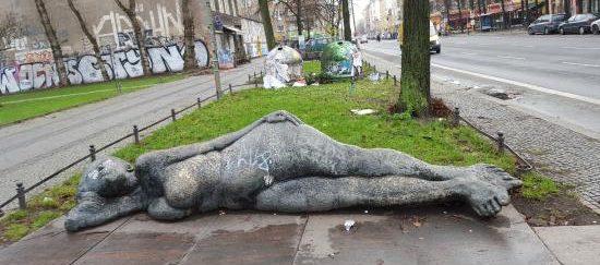 район Kreuzberg в Берлине